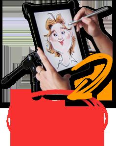 iPad karikaturen