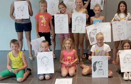 Workshop tijdens zomervakantie